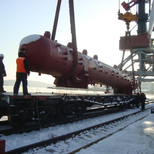 Autoclave delivery to Irkutsk