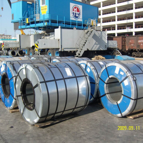 Transshipment of export metal products of Severstal OJSC