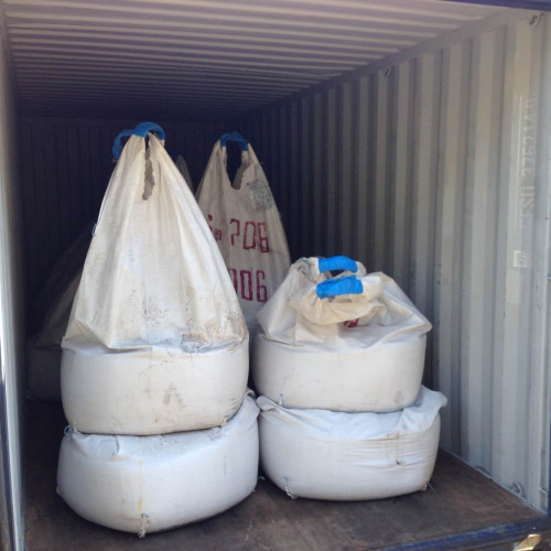 Transshipment of export tin concentrate