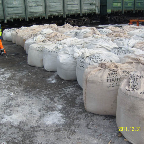 Transshipment of exported tungsten concentrate