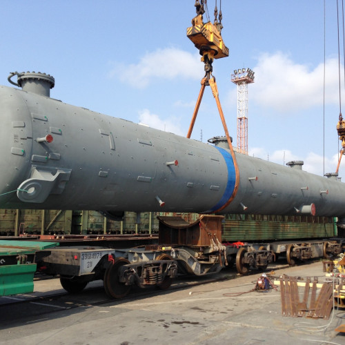 Column delivery to Angarsk